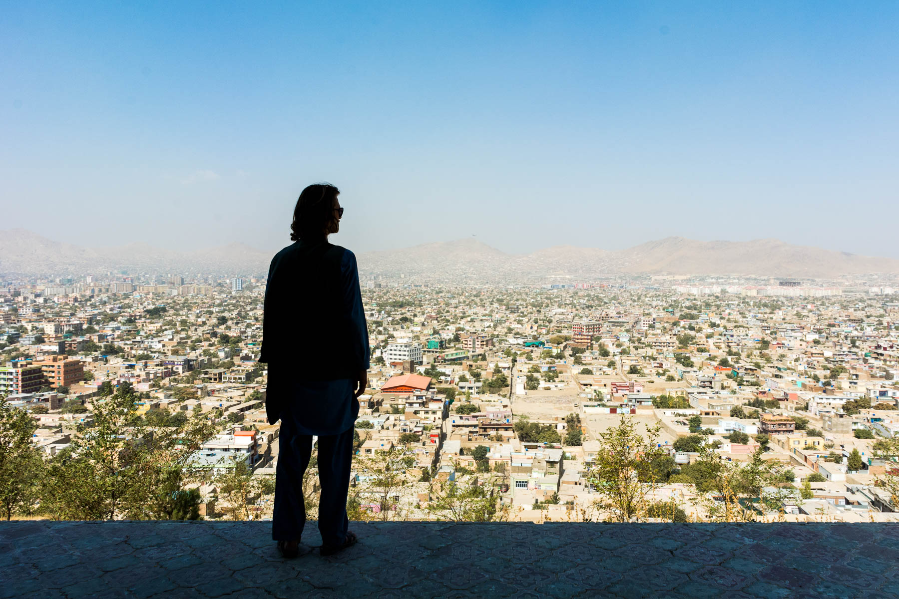 Overlooking the Kabul, Afghanistan skyline - Lost With Purpose