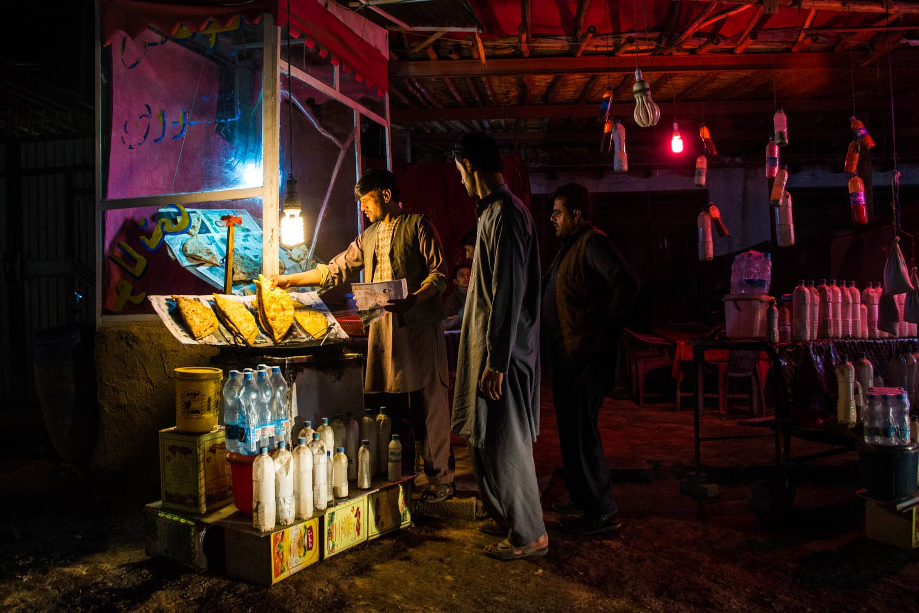 Getting food after dark in Kabul, Afghanistan - Lost With Purpose