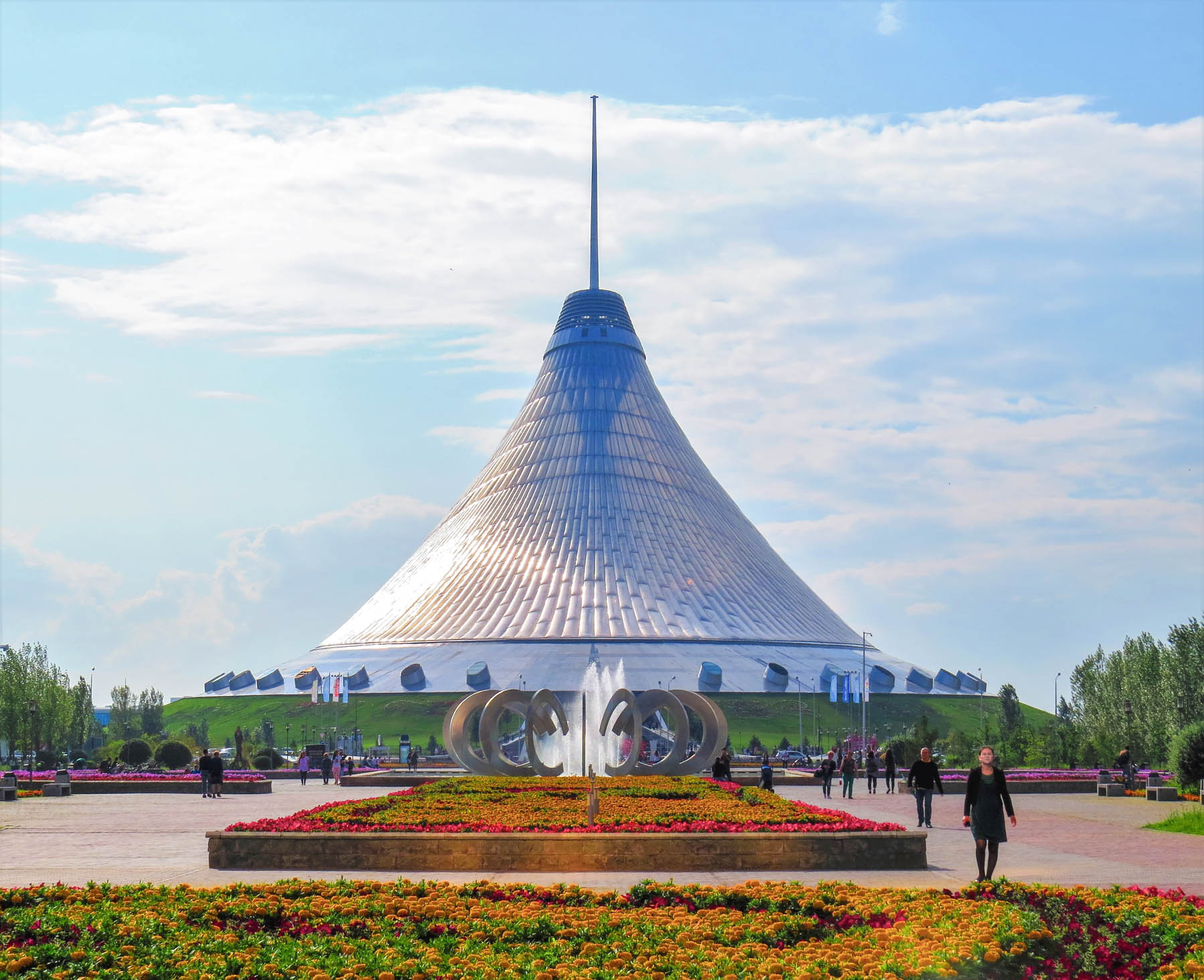 Things to do in Astana, Kazakhstan - Khan Shatyr