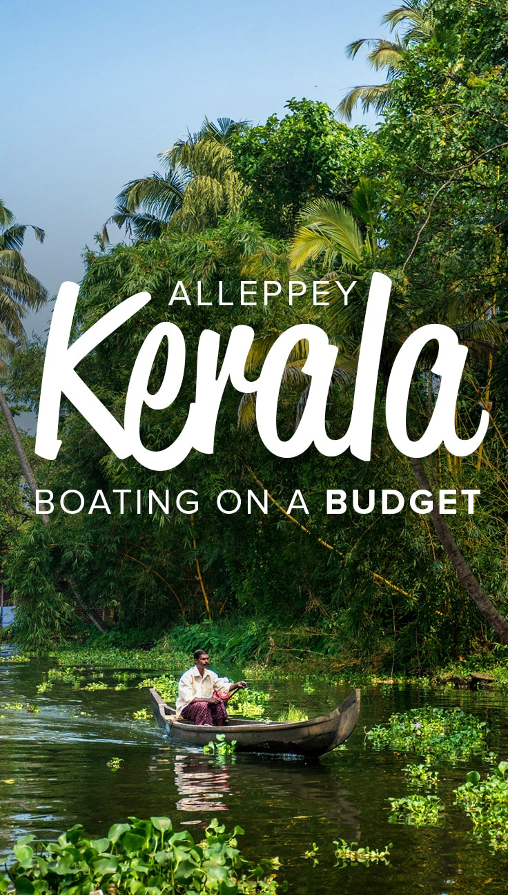 The Alleppey (Alappuzha) backwaters in Kerala, India, are a famous stop on the southern Indian tourist track. With lush palm trees and winding waterways, they're a pleasure to boat around. But boat hire can be expensive for budget travelers and backpackers! Here's the cheapest way to see the Alleppey backwaters in Kerala, India.