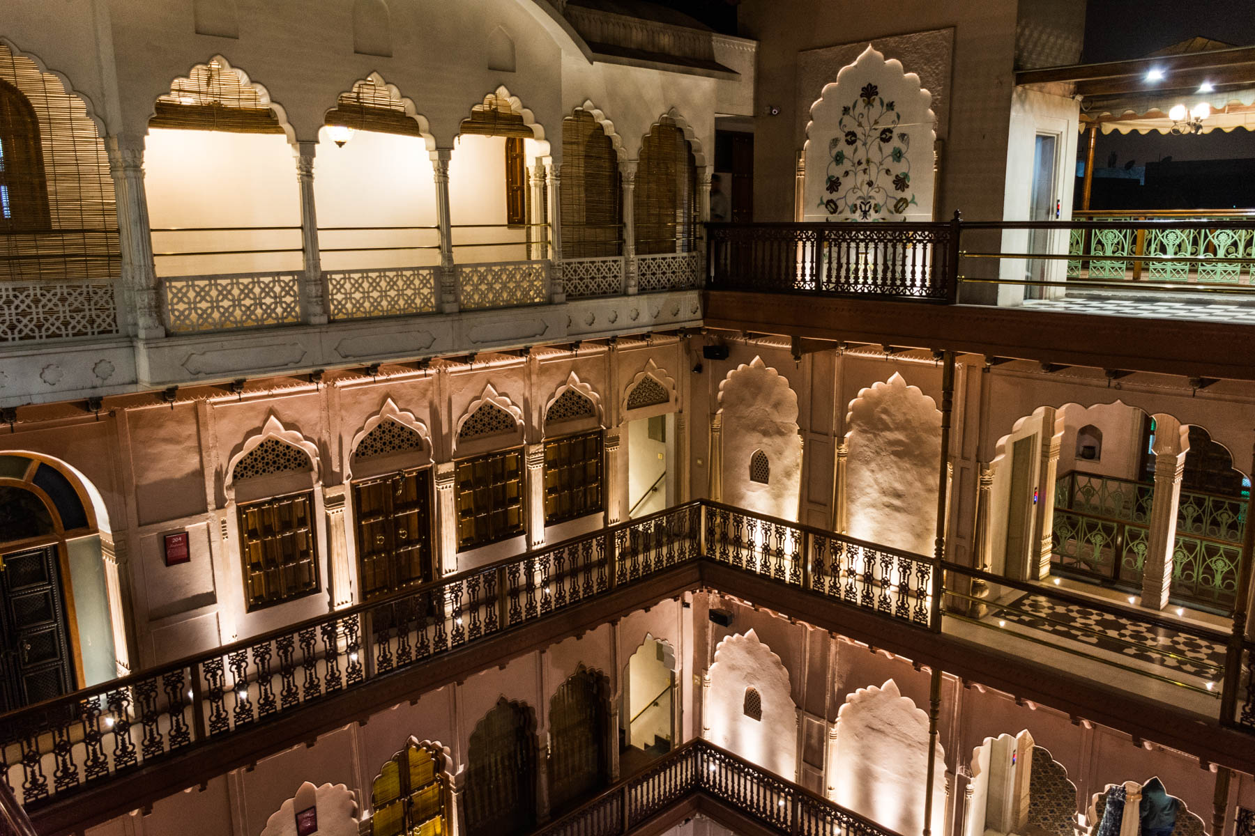 A restored haveli in Delhi, India - Lost With Purpose