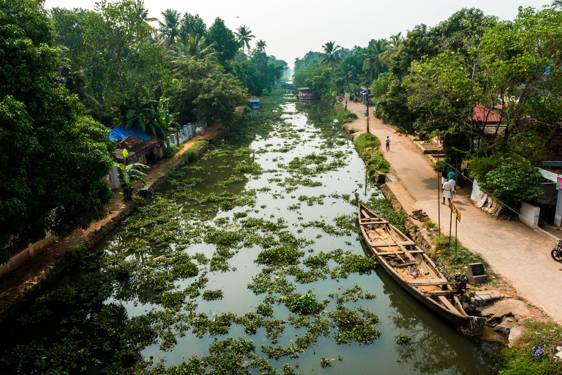 Kottayam boat jetty - The cheapest way to see the Alleppey backwaters in Kerala, India - Lost With Purpose