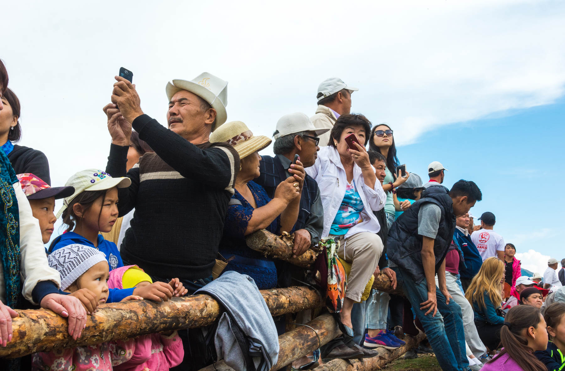 Kyrgyz tourists at the 2016 World Nomad Games