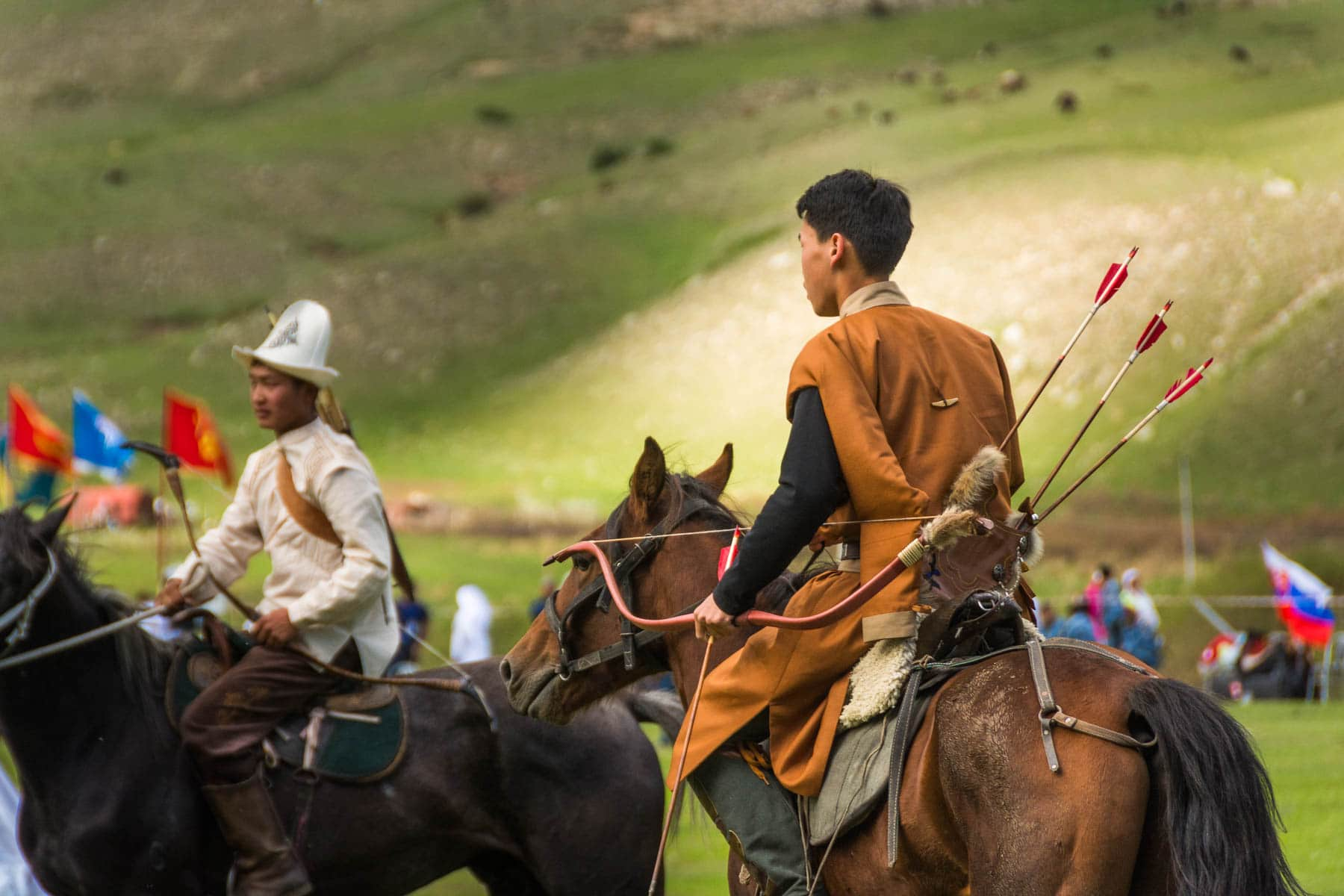 Horseback archer at the 2016 World Nomad Games - Are the 2018 World Nomad Games worth the trip? - Lost With Purpose