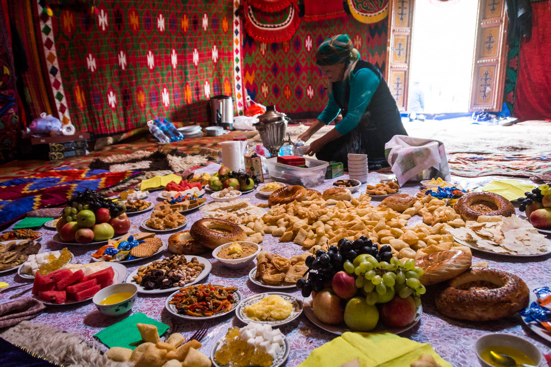 Free nomadic food at the 2016 World Nomad Games - Are the 2018 World Nomad Games worth the trip? - Lost With Purpose