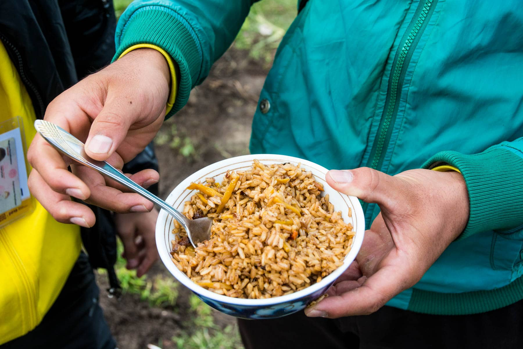 Free homemade plov at the 2016 World Nomad Games - Are the 2018 World Nomad Games worth the trip? - Lost With Purpose