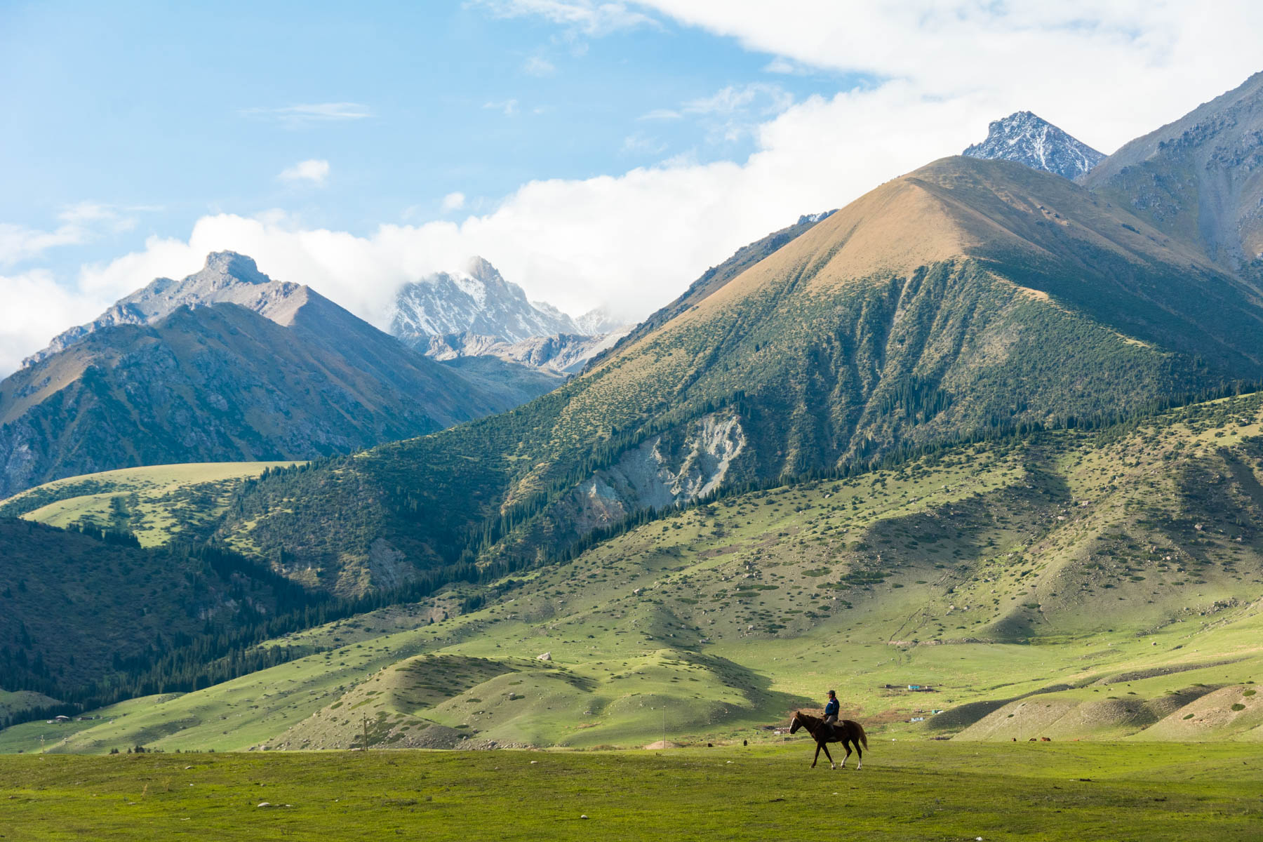 Mountains in Kirchin Gorge, the backdrop of the 2016 World Nomad Games - Lost With Purpose