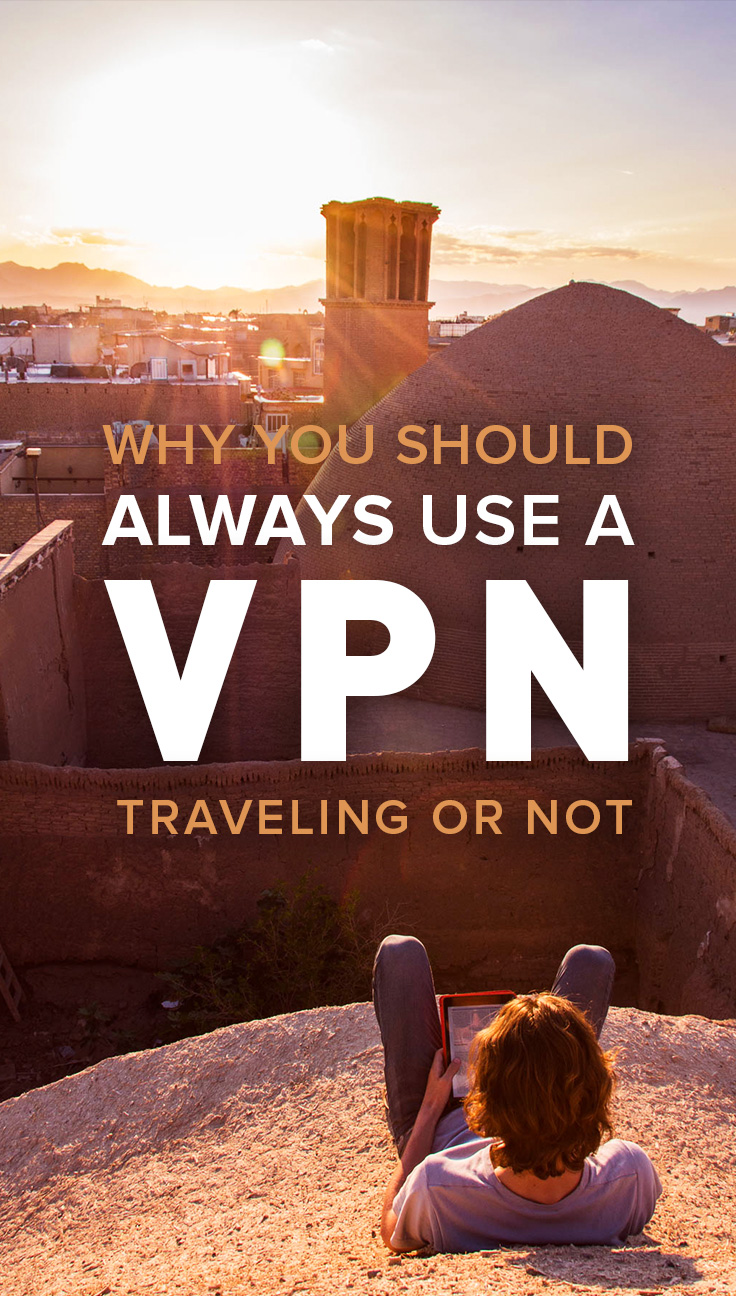 VPNs are essential when traveling, especially if you're traveling to countries that censor internet such as China, Iran, Cuba, or North Korea. But did you know that you should also be using a VPN while at home? Read on for an explanation of what a VPN is, how it can protect you and save you money, and why you need to use one both at home and abroad.